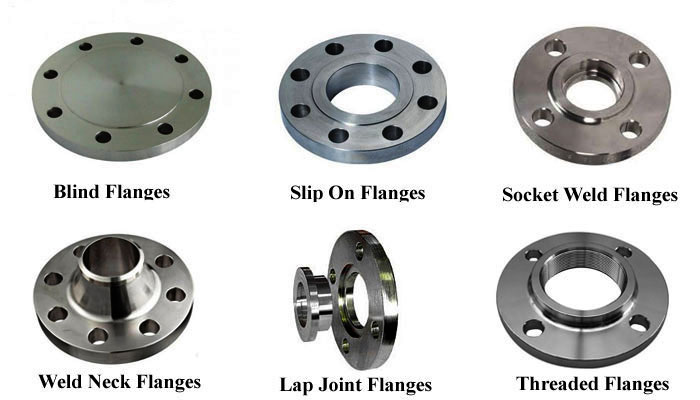 6 Common Type Of Pipe Flanges